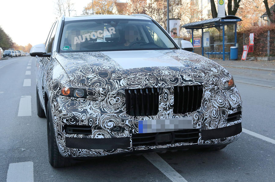Ordinaire ... 2018 BMW X5 Spotted In New Bodywork ...