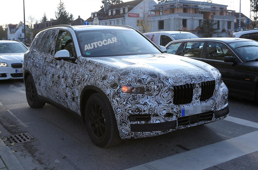 Attrayant ... 2018 BMW X5 Spotted In New Bodywork ...