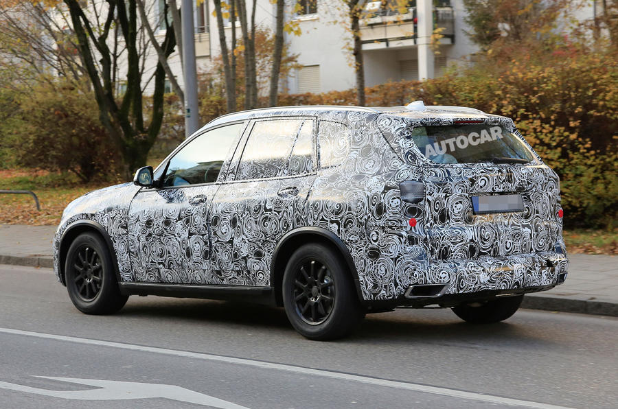 2018 Bmw X5 Spotted In New Bodywork Autocar