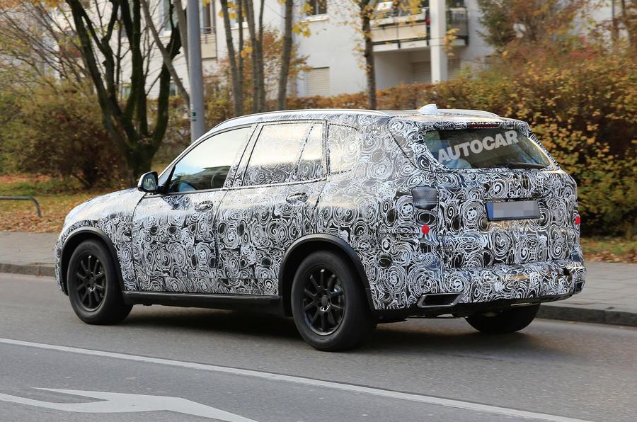 ... 2018 BMW X5 Spotted In New Bodywork ...