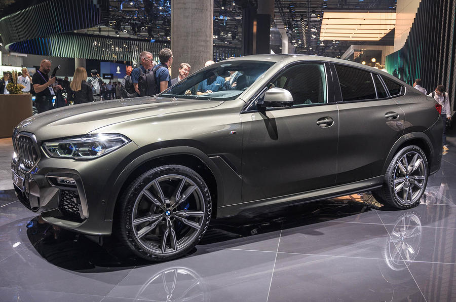 BMW X6 at Frankfurt - front