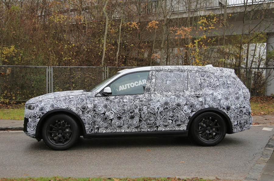 series based bmw x7 testing mule spotted earlier this year 7 series ...