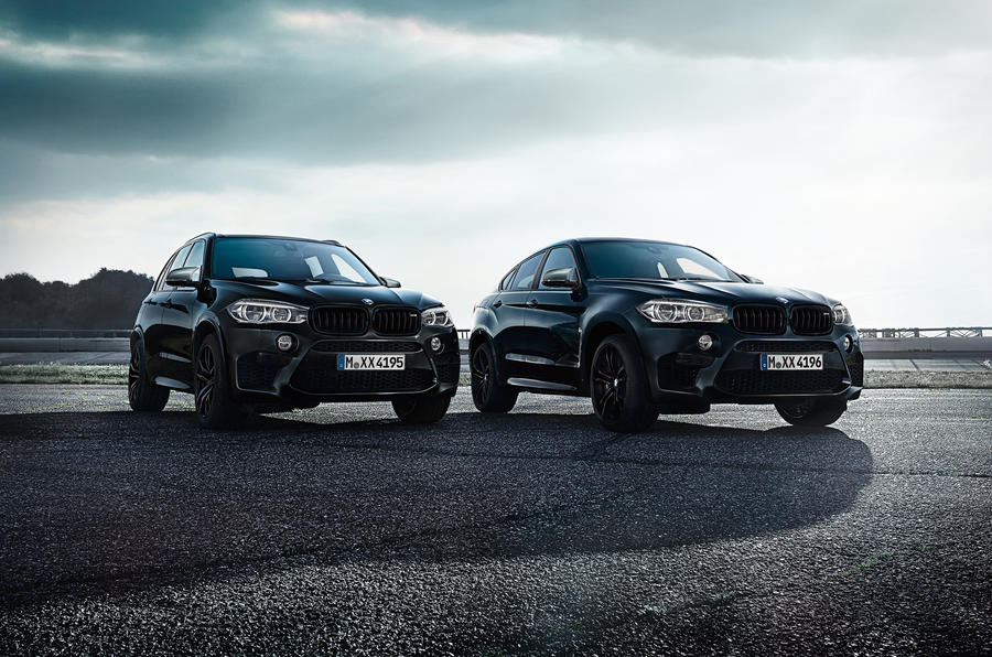 BMW announces X5 and X6 M Black Fire Editions