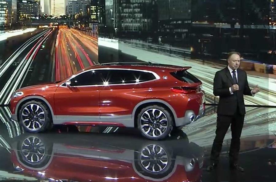 2018 Bmw X2 Previewed With Paris Motor Show Concept Autocar