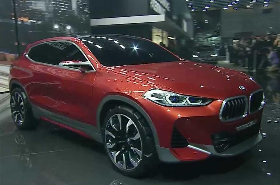 2018 BMW X2 previewed with Paris motor show concept | Autocar