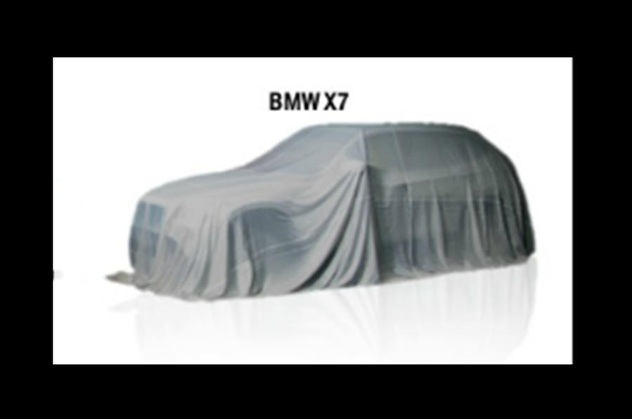 BMW X7 teased