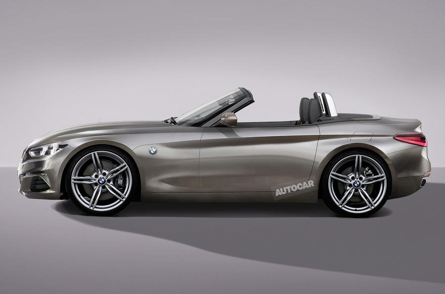 Bmw Z4 Concept To Preview Next Gen Model At Pebble Beach
