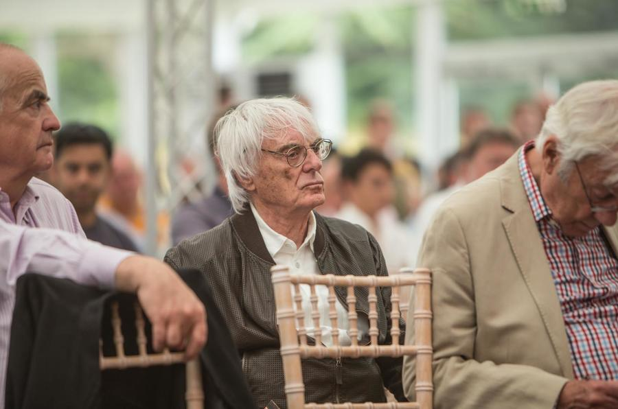 Bernie Ecclestone at Bonhams Goodwood
