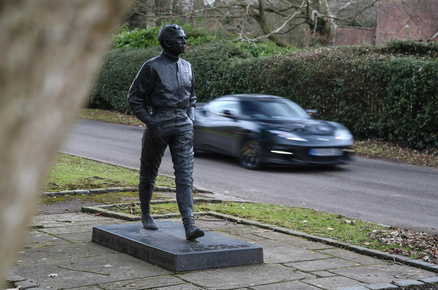 Jim Clark statue