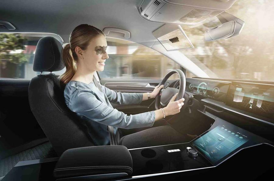 Bosch announces a Virtual Visor that will shade your eyes while driving