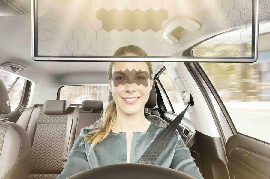 Bosch re-engineers the sun visor to make it safer and cooler