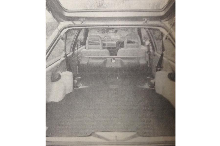 1980 Ford Escort Estate 1.6 L boot