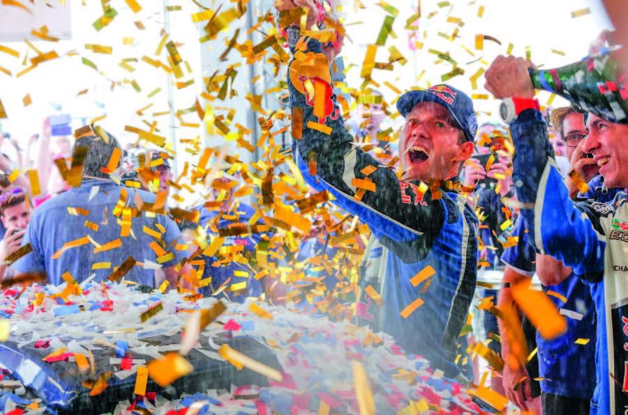 Sébastien Ogier has won the WRC title - again