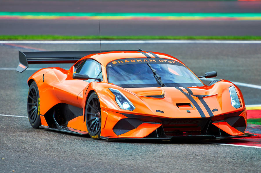 Brabham BT62 Competition specification