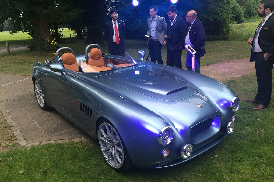 Bristol Bullet Riding Shotgun In The New 163 250k Speedster