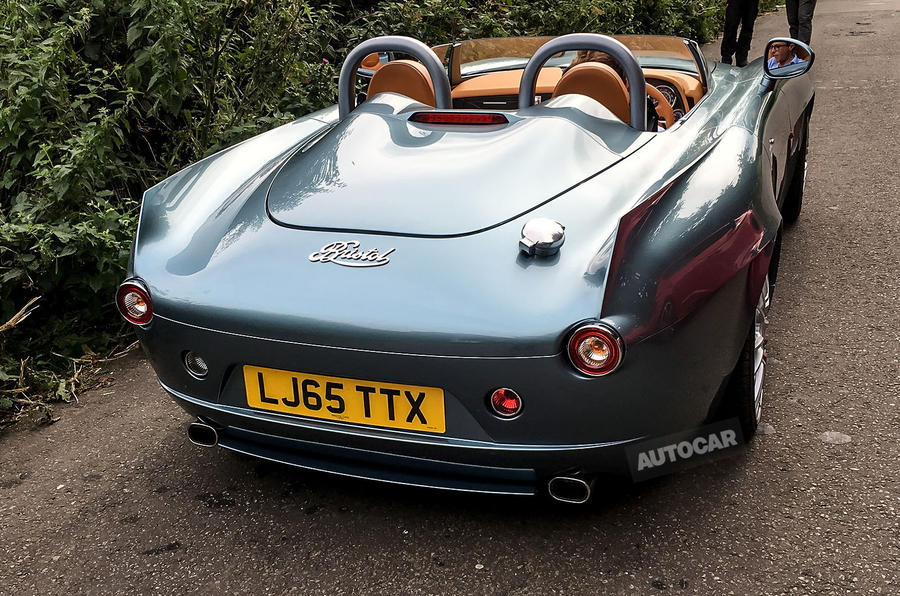 What Is The Full Form Of Bmw >> Bristol Bullet: first pictures ahead of official unveiling | Autocar