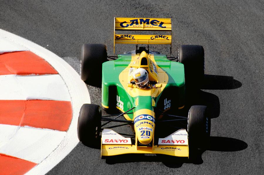 Martin Brundle, Benetton B192, 1992