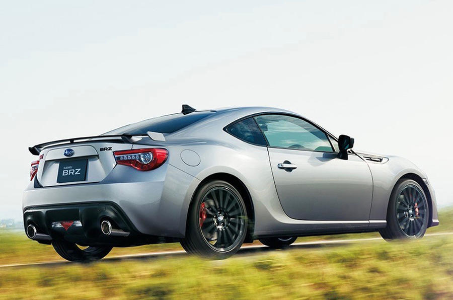 Subaru BRZ facelifted in Japan with new suspension | Autocar