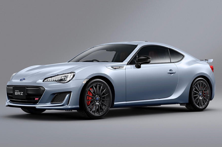 Subaru BRZ facelifted in Japan with new suspension