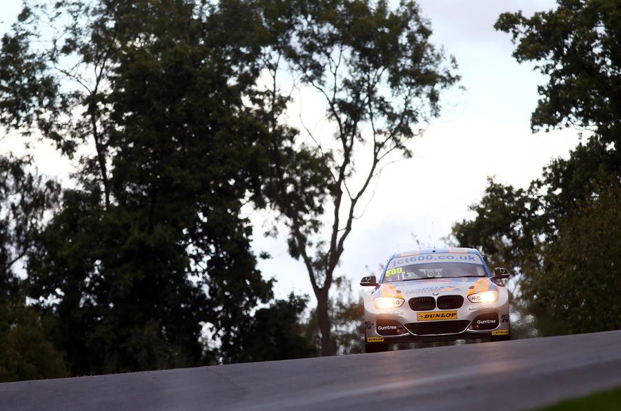 BTCC 2016 BMW 1 Series Sam Tordoff