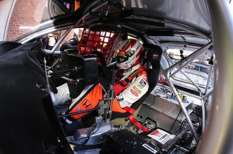 BTCC 2016 Honda Civic Type R Matt Neal