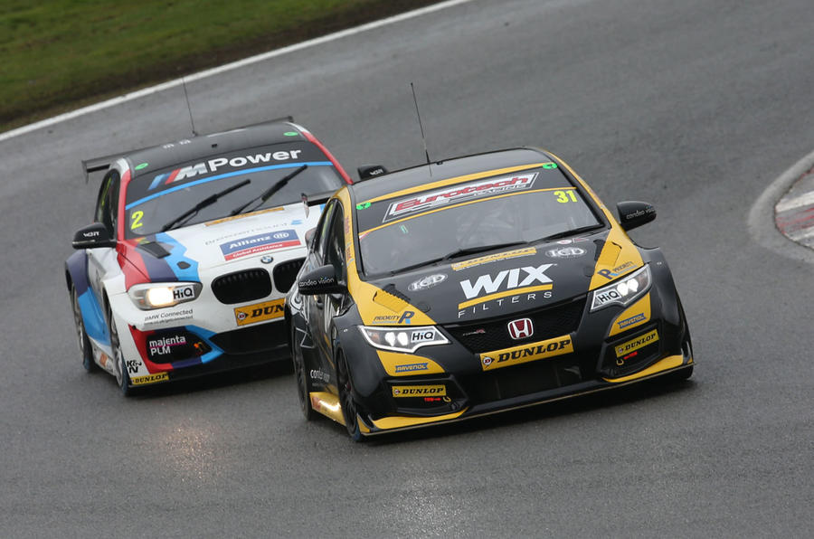 Btcc 2018 Ingram Charges To Early Points Lead Autocar