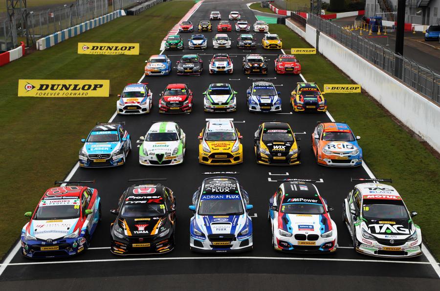 Five Champions 17 Race Winners On 2018 Btcc Grid Autocar