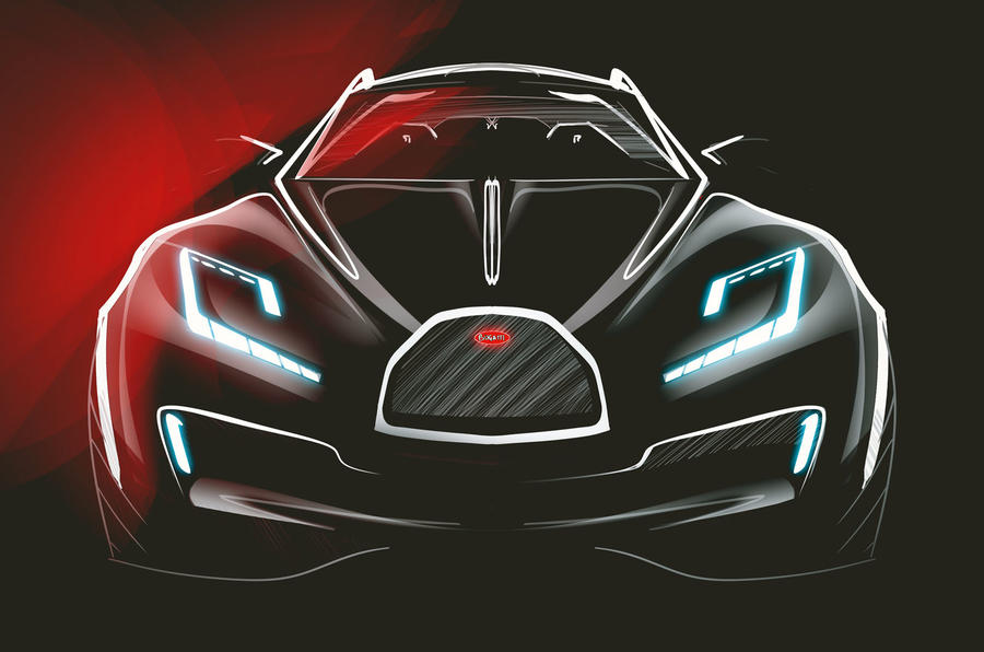 "2019 Bugatti La Voiture Noire Sketches By Etienne Gallery: Bugatti ""ready"" For Second Model, Says Boss"