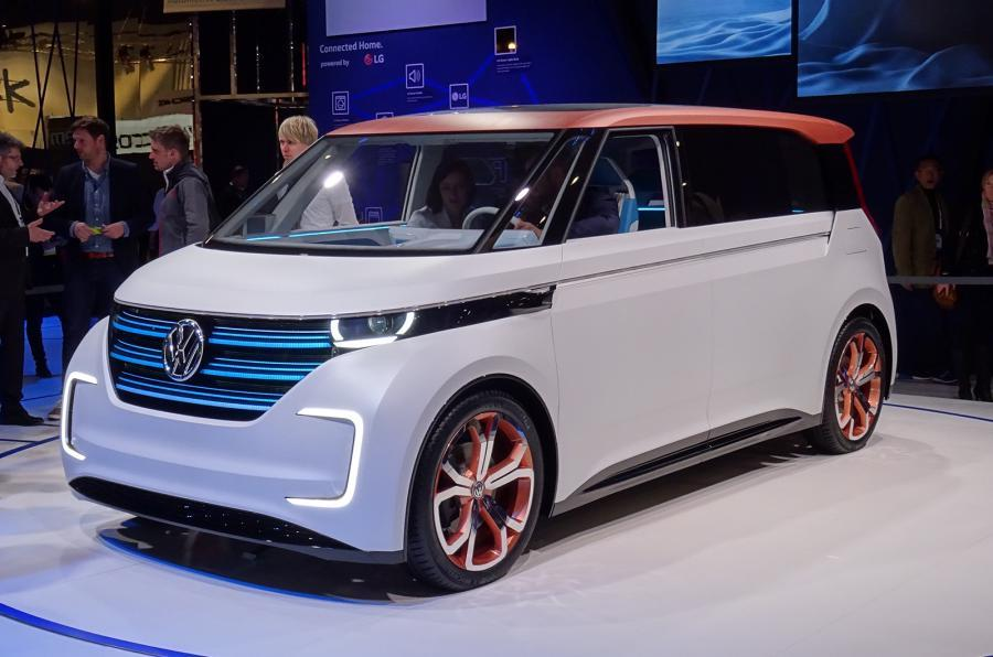 Volkswagen EV interior space