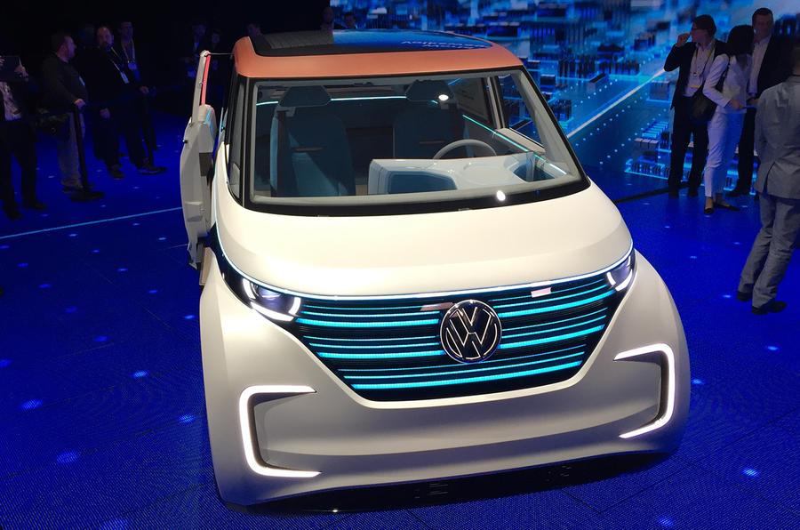 Volkswagen Las Vegas >> Volkswagen Budd-e concept revealed at CES | Autocar