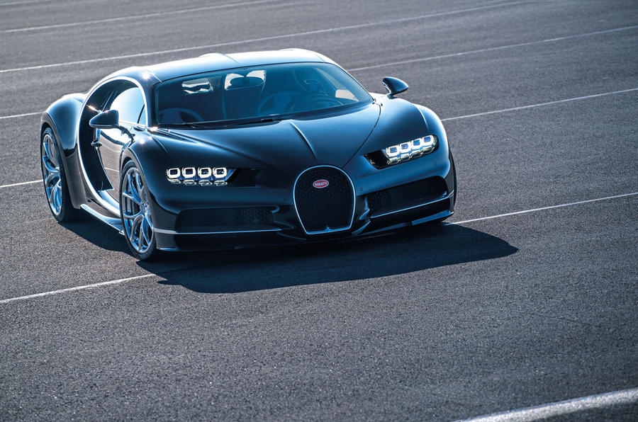 29: 2017 Bugatti Chiron - NEW ENTRY