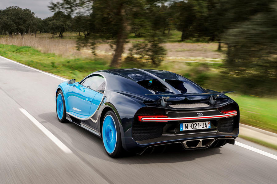 Geneva Motor Show: Bugatti puts the Chiron on a diet