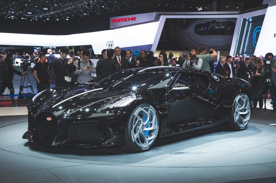 bugatti la voiture noire revealed as most expensive new car of all