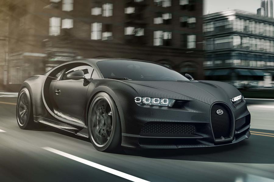Bugatti Chiron Noire Sportive