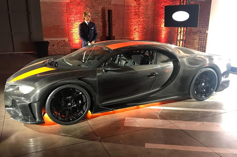 Bugatti Chiron Super Sport 300+ front