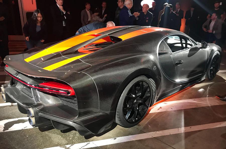 Bugatti Chiron Super Sport 300+ rear