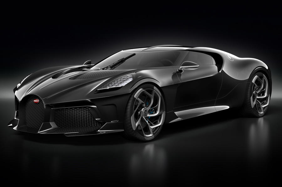 Bugatti La Voiture Noire official press photos - hero front