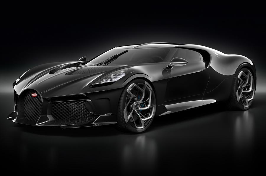 Bugatti La Voiture Noire official press photos - hero front