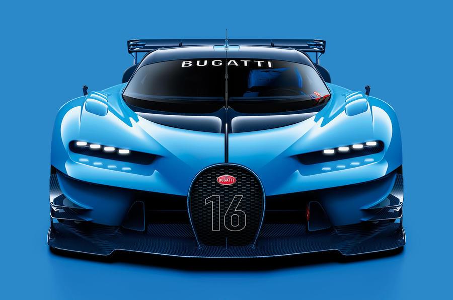 Bugatti vision gran turismo concept new video autocar for Game design frankfurt