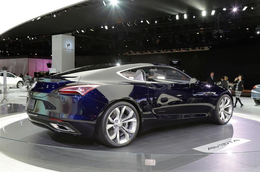 Buick avista concept car