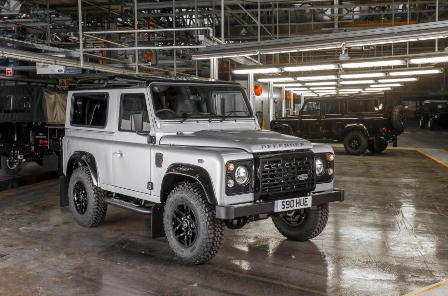 Jaguar Land Rover registers for Defender trademark