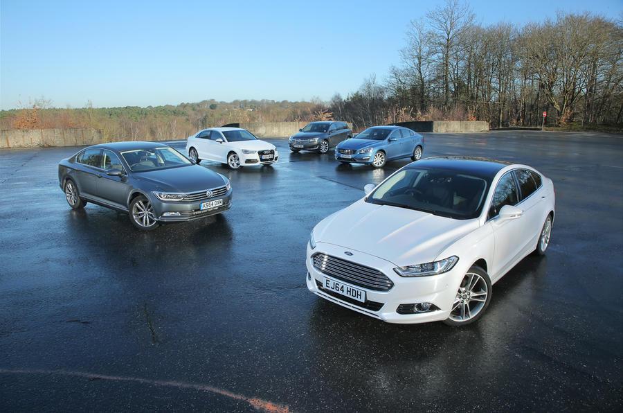 New Ford Mondeo Versus Business Car Rivals Comparison