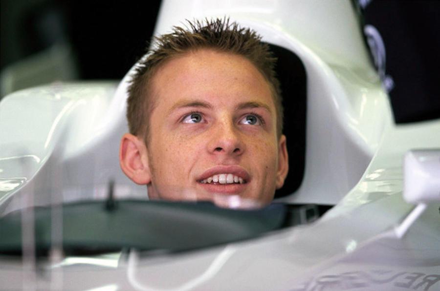 Jensen Button 2000