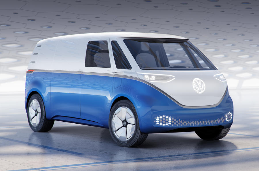 Volkswagen reveals ID Buzz Cargo van as latest MEB family member
