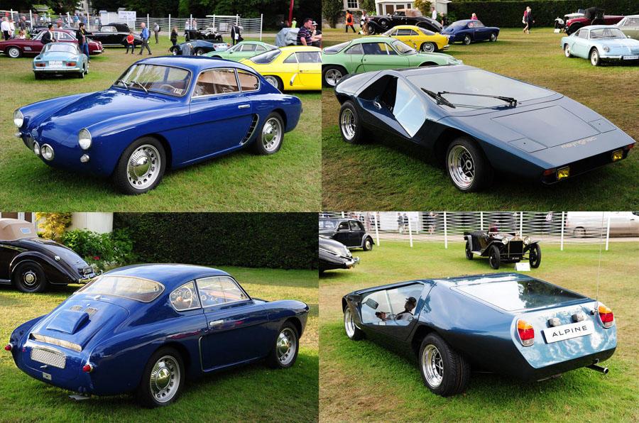 Classic Alpine models