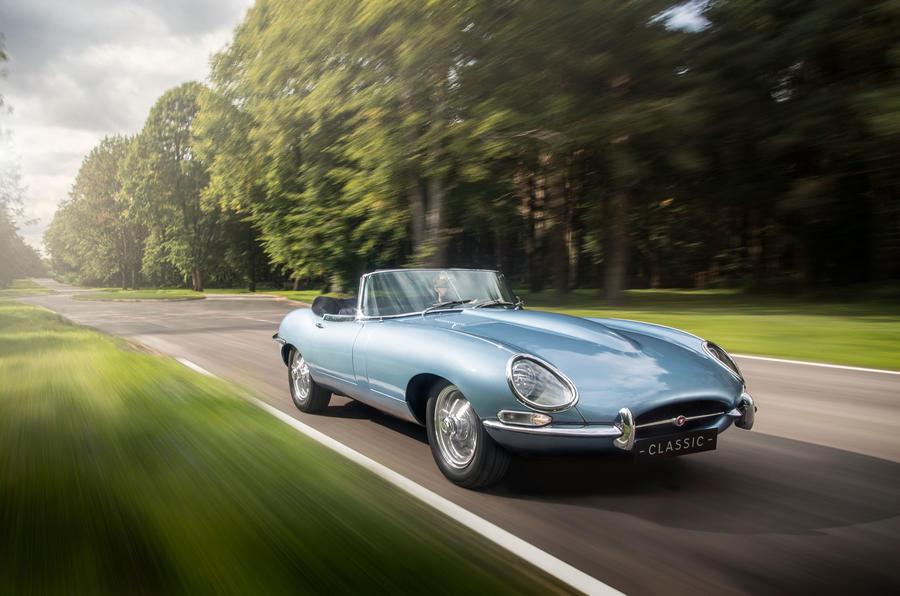 Jaguar Concept Zero electric E-Type