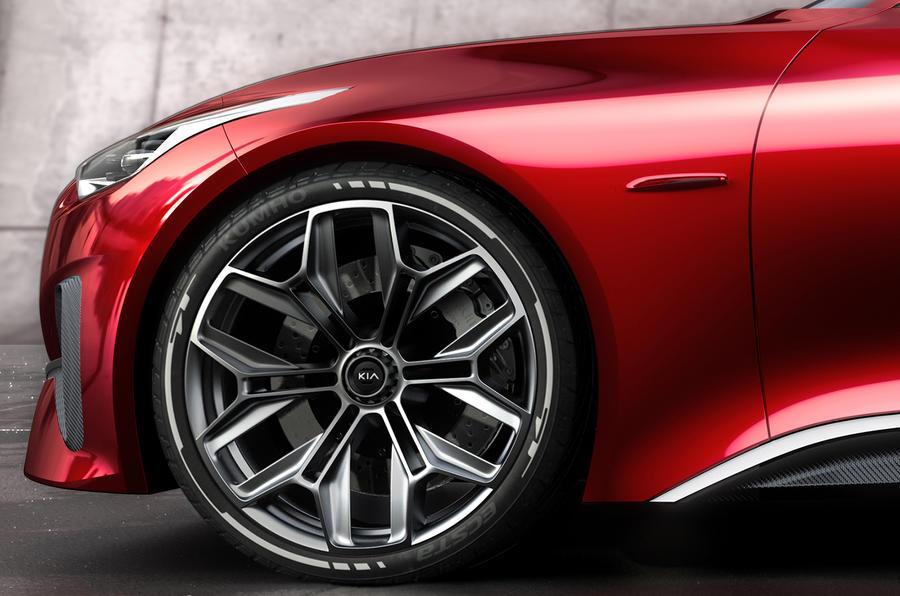 Kia Proceed wheels