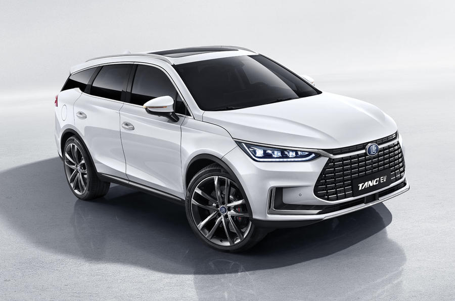 2020 BYD Tang EV600 - static front