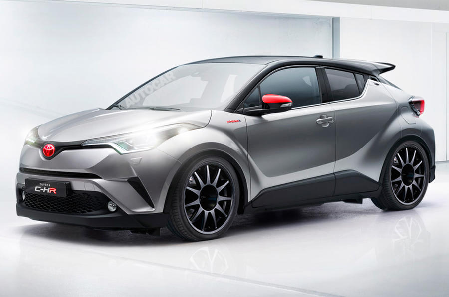 Hot Toyota C Hr Under Consideration Autocar