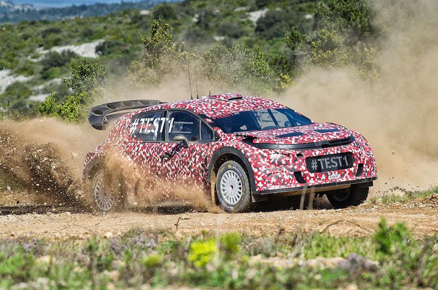 2017 Citroen C3 world rally car